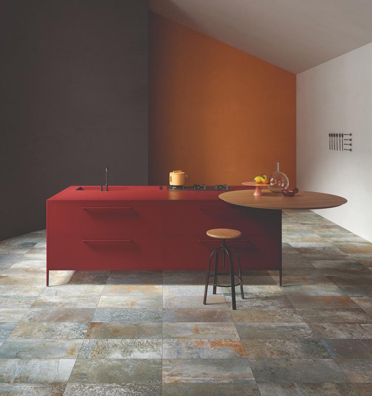 Керамическая плитка на кухне. Модные решения (фото 2)
