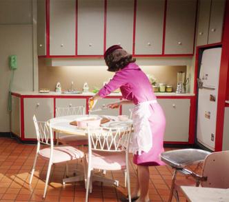 Интерьеры из сериала «Удивительная миссис Мейзел» (фото 6.1)