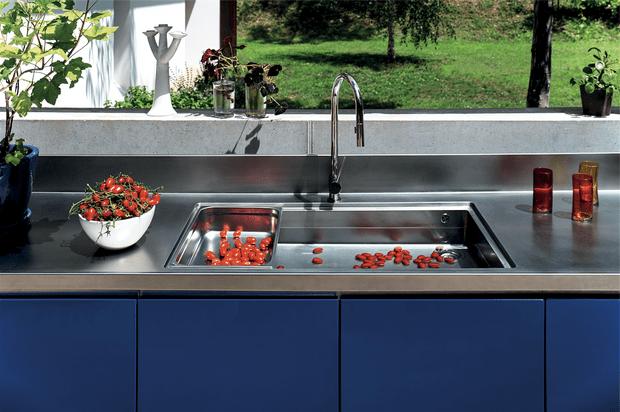 Летняя кухня в саду (фото 12)