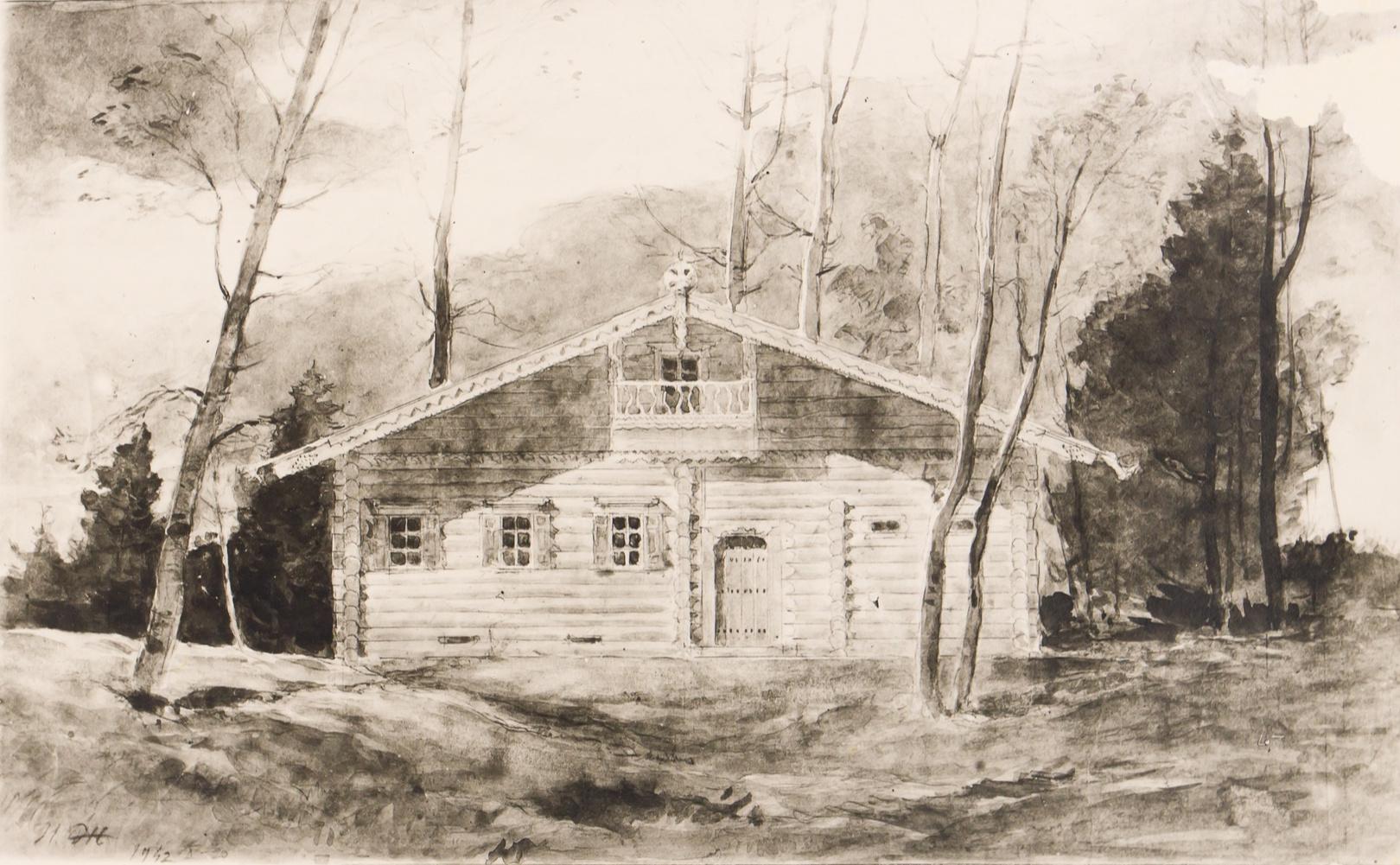 Уникальный архив архитектора Жолтовского выставят на аукцион (галерея 11, фото 5)