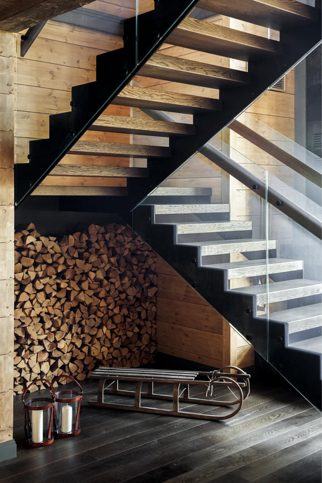 Как оборудовать лестницу: 20 идей (галерея 0, фото 0)