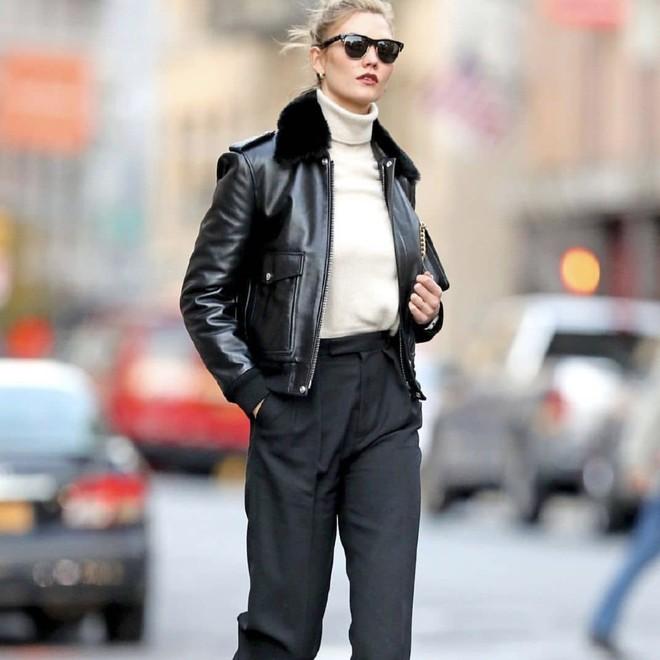 Кожаная куртка с мехом — лучшая покупка ноября (фото 6)