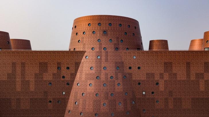 И медные трубы: новый музей по проекту Бернара Чуми в Китае (фото 0)