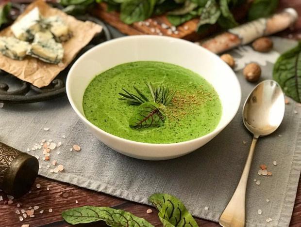 Новогодний детокс: суп-пюре из шпината (фото 3)
