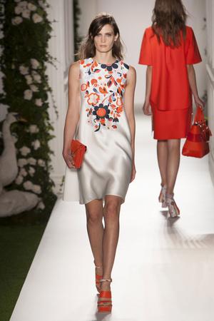 Показы мод Mulberry Весна-лето 2014 | Подиум на ELLE - Подиум - фото 3587