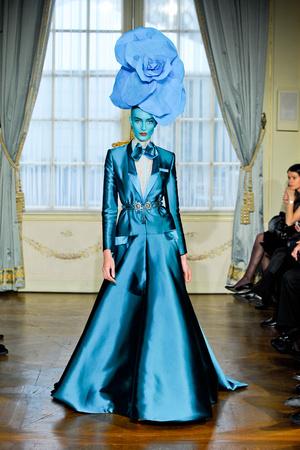 Показ Alexis Mabille коллекции сезона Весна-лето 2012 года Haute couture - www.elle.ru - Подиум - фото 330156