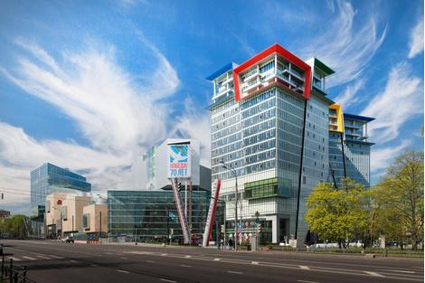 """""""Кунцево Плаза"""" – новый торговый центр по проекту американских архитекторов   галерея [1] фото [1]"""