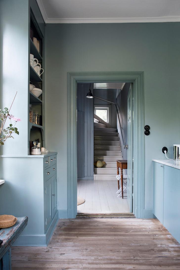 Голубая мечта: дом шведской художницы Гуннель Салин (фото 18)
