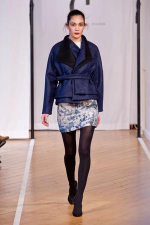 Показы мод Christophe Phung Осень-зима 2014-2015 | Подиум на ELLE - Подиум - фото 3965