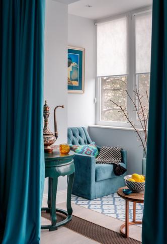Московская квартира в восточном стиле: проект Маргариты Мустафиной (фото 7)