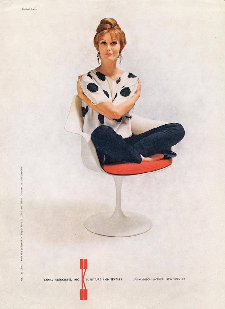 Культовый объект: стул Tulip Ээро Сааринена (фото 2)