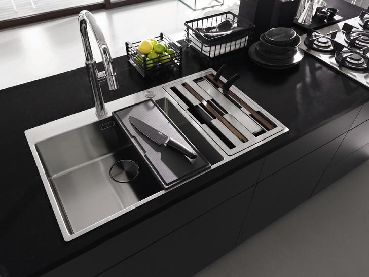 Мыть или не мыть? Какой должна быть раковина для кухни (фото 8)