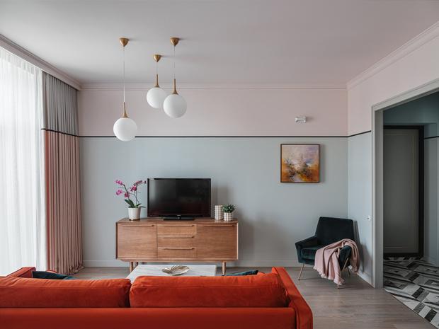 Романтичная квартира в сталинском доме (фото 0)