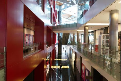 """""""Кунцево Плаза"""" – новый торговый центр по проекту американских архитекторов   галерея [1] фото [7]"""