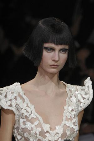 Показ Giorgio Armani Privé коллекции сезона Весна-лето 2009 года haute couture - www.elle.ru - Подиум - фото 86732