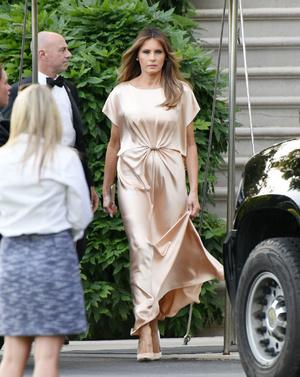 Первый модный провал Мелании Трамп