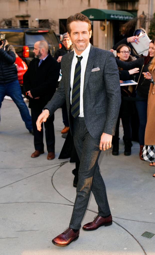 Блейк Лайвли и Райан Рейнольдс на премьере фильма в Нью-Йорке (фото 5)