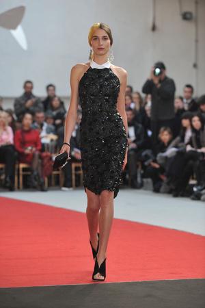Показ Alexis Mabille коллекции сезона Весна-лето 2010 года haute couture - www.elle.ru - Подиум - фото 137906