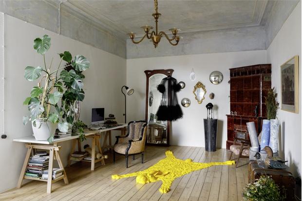 Квартира художницы Натальи Пивко в Санкт-Петербурге (фото 0)