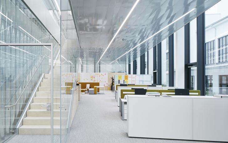 Новое здание штаб-квартиры Swarovski от студии Snøhetta (фото 8)