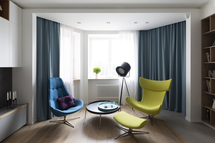 Квартира 150 м²: нескучный проект в скандинавском стиле (фото 3)