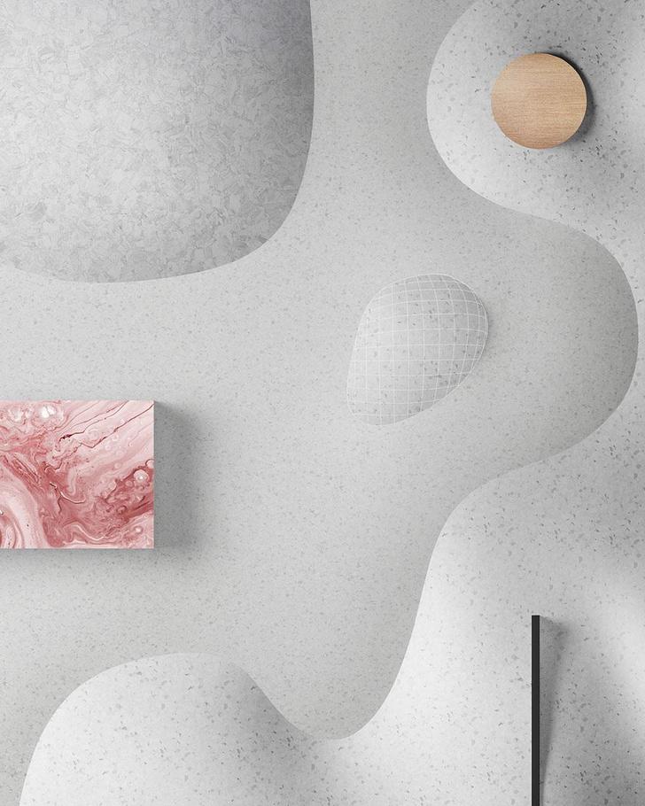 «Снежная» инсталляция студии Note Design для Tarkett (фото 5)