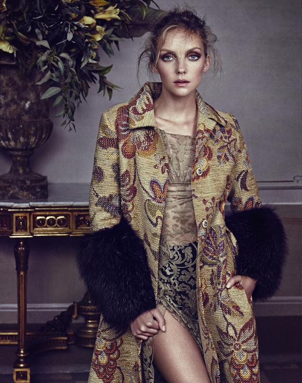 С чем носить: гобеленовое пальто
