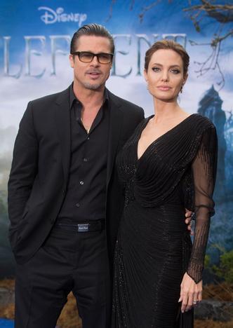 Анджелина Джоли и Брэд Питт: фото 2015