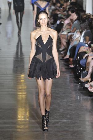 Показы мод Jill Stuart Весна-лето 2010 | Подиум на ELLE - Подиум - фото 3077