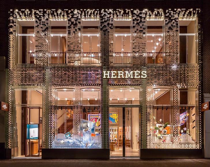 Новый бутик Hermès в Амстердаме (фото 0)