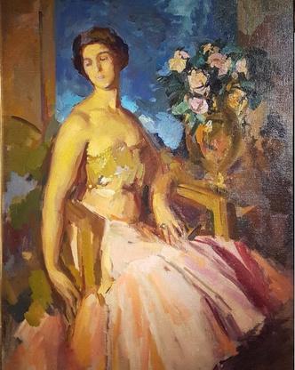 Портеры возлюбленных русских художников (фото 3)