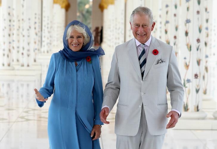 Принц Чарльз и герцогиня Камилла в ОАЭ