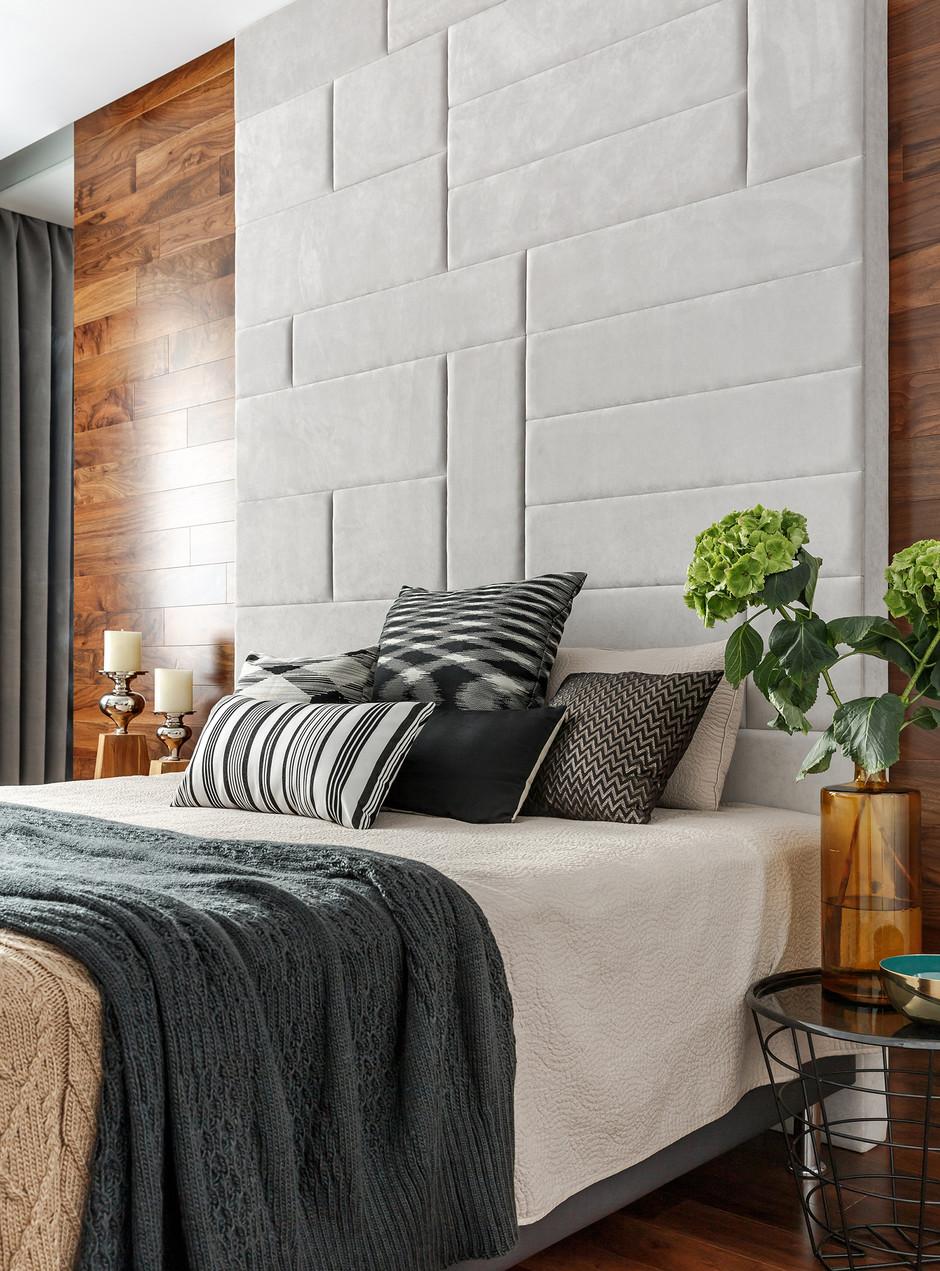 Кровати с необычными изголовьями: 15 примеров (галерея 0, фото 2)