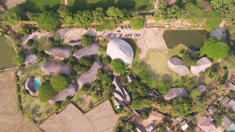 В Таиланде построили спортзал из бамбука | галерея [1] фото [1]