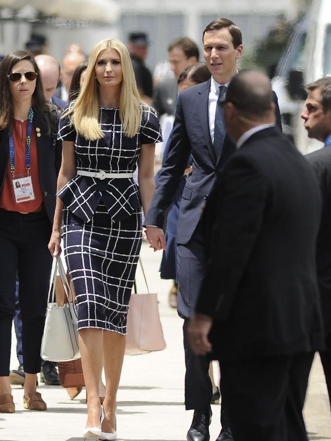 Иванка Трамп в платье Oscar de la Renta за $2490 в Аргентине (фото 2)