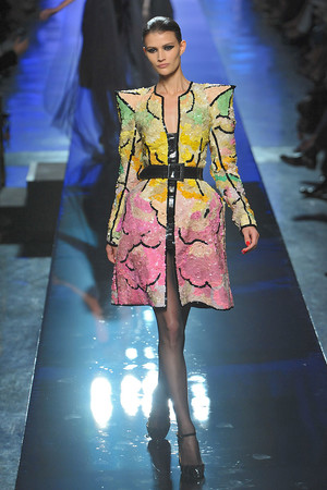 Показ Jean Paul Gaultier коллекции сезона Осень-зима 2009-2010 года Haute couture - www.elle.ru - Подиум - фото 87936