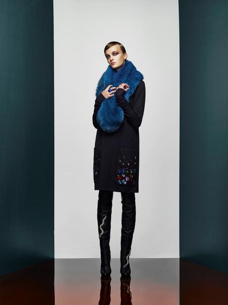 Хозяйка Медной горы: новая pre-fall коллекция A LA RUSSE Anastasia Romantsova   галерея [2] фото [20]