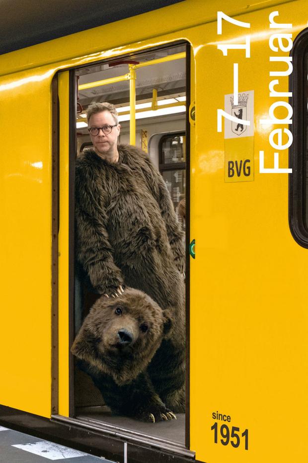 Медведи на велосипеде: как выглядят официальные постеры Берлинале (фото 3)