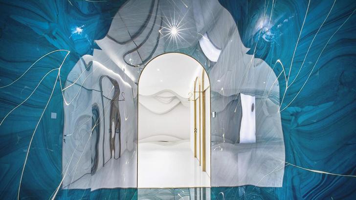 В пещере горного короля: салон красоты в Китае (фото 0)