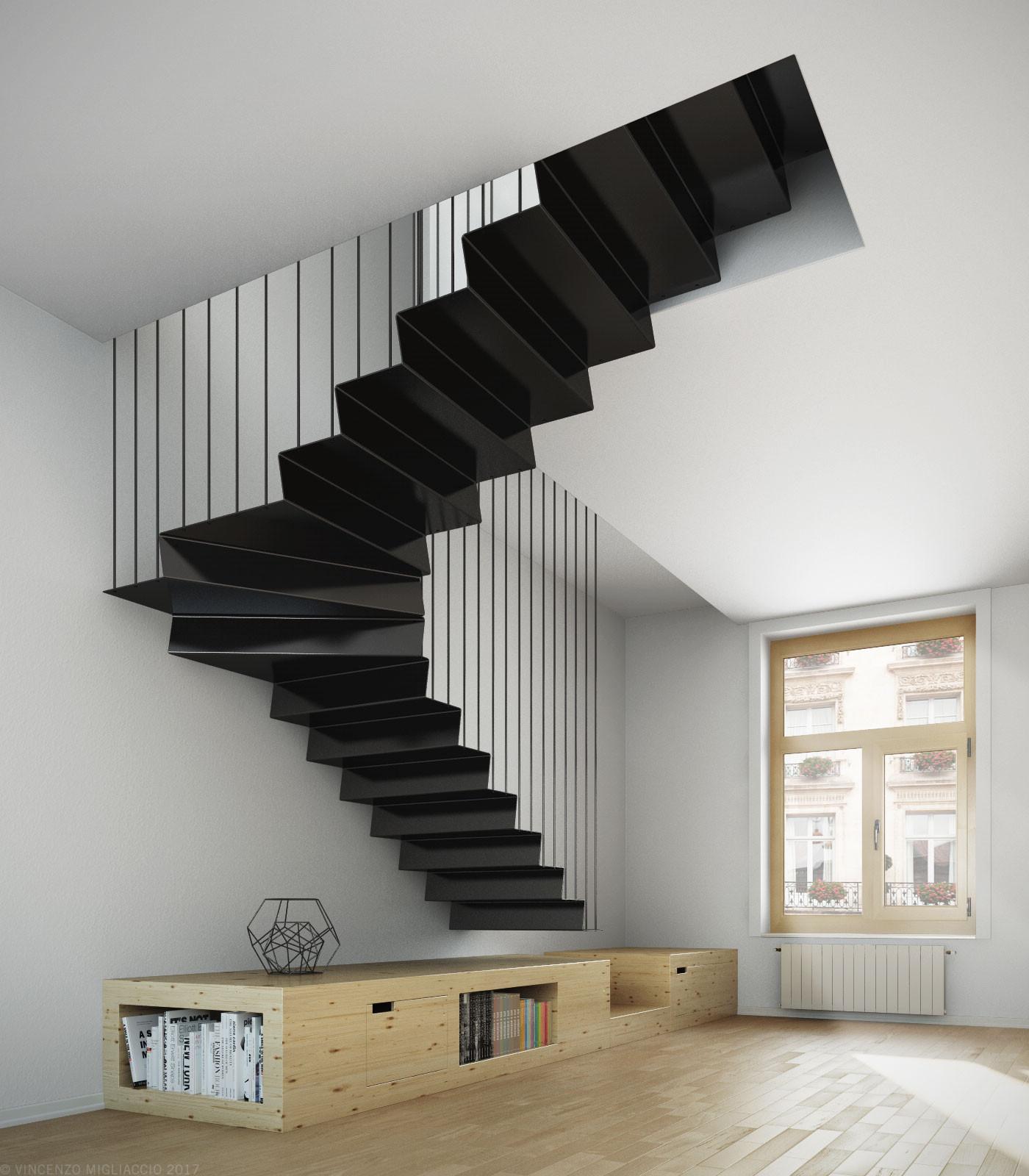 Топ-10: самые необычные дизайнерские лестницы | галерея [7] фото [2]