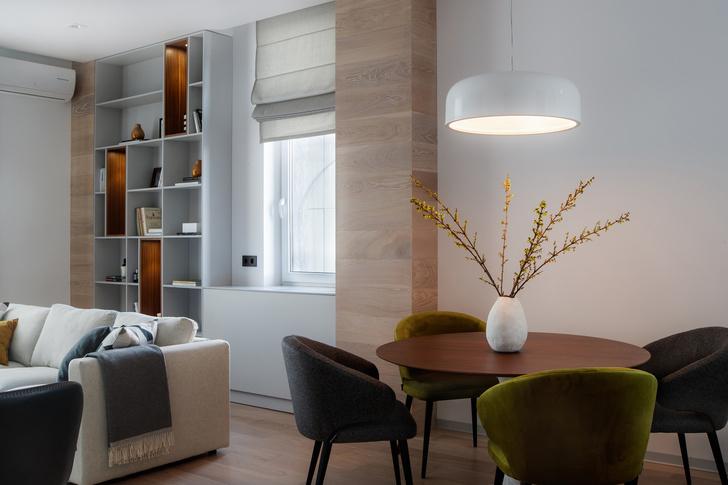 Квартира 77 м² в стиле минимализм (фото 9)
