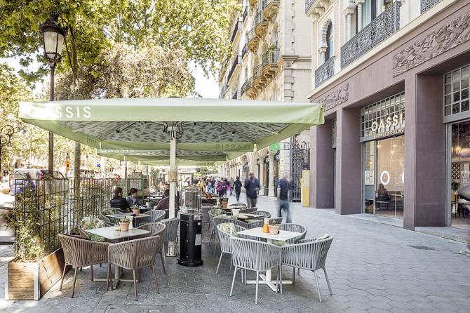 Oassis: тихий ресторан в центре Барселоны (фото 14)