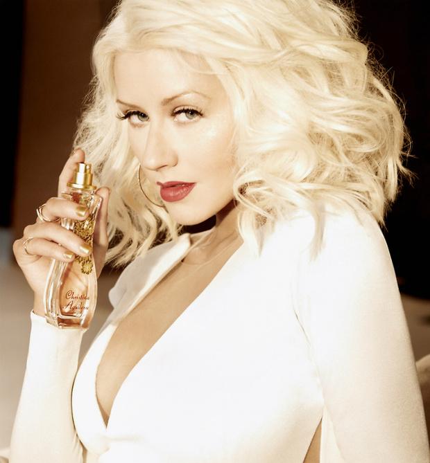Кристина Агилера в рекламной кампании нового аромата Woman