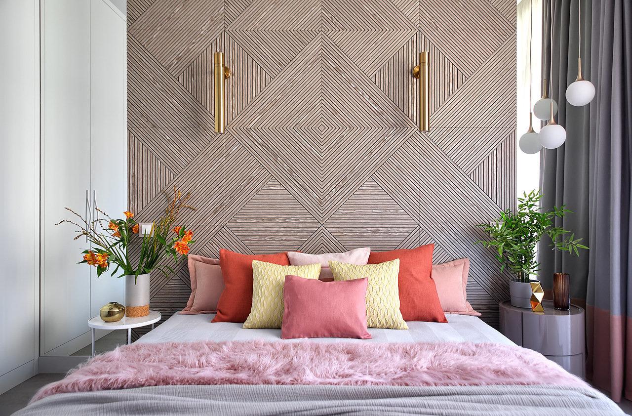 Деревянные панели в спальне: 15 примеров (галерея 1, фото 2)