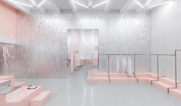Яркая концепция в минималистичном дизайне в магазине от AKZ Architectura (фото 7)