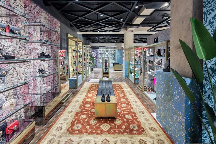 Бутик-головоломка Flannels в Лондоне (фото 3)