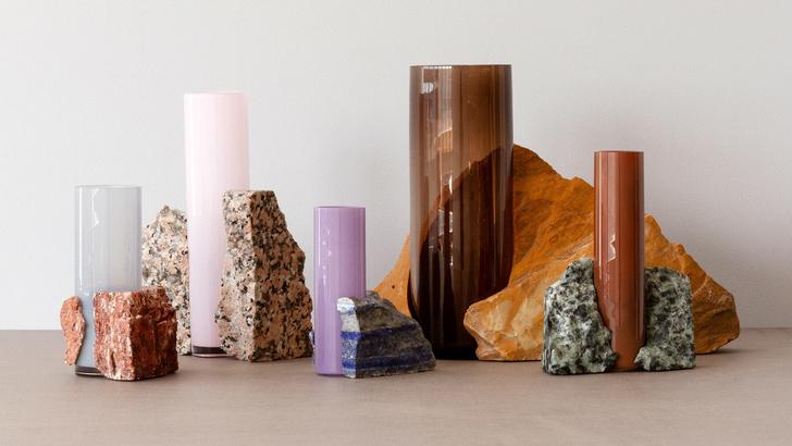 Стекло и мрамор: оригинальные вазы студии Studio EO (фото 2)