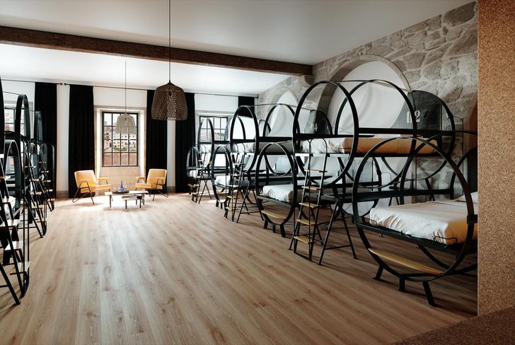 Дизайнерский хостел в Португалии (фото 1)