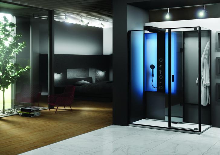 Топ 12: освещение в ванной. Мебель, зеркала, душевые лейки и ванны со встроенной подсветкой (фото 21)