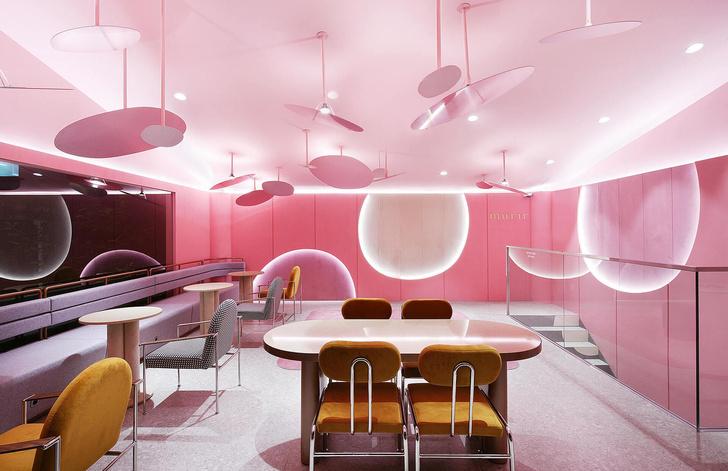 Розовый бутик Villa de Mûrir в Сеуле (фото 8)
